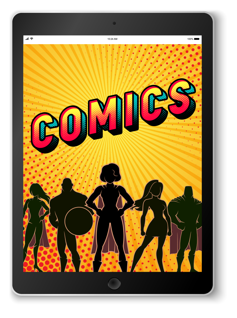 Explore available e-comic books