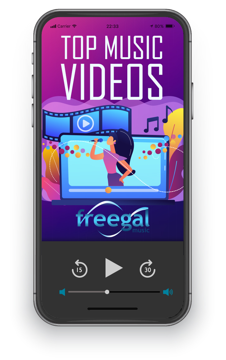 Watch Freegal's top music videos.
