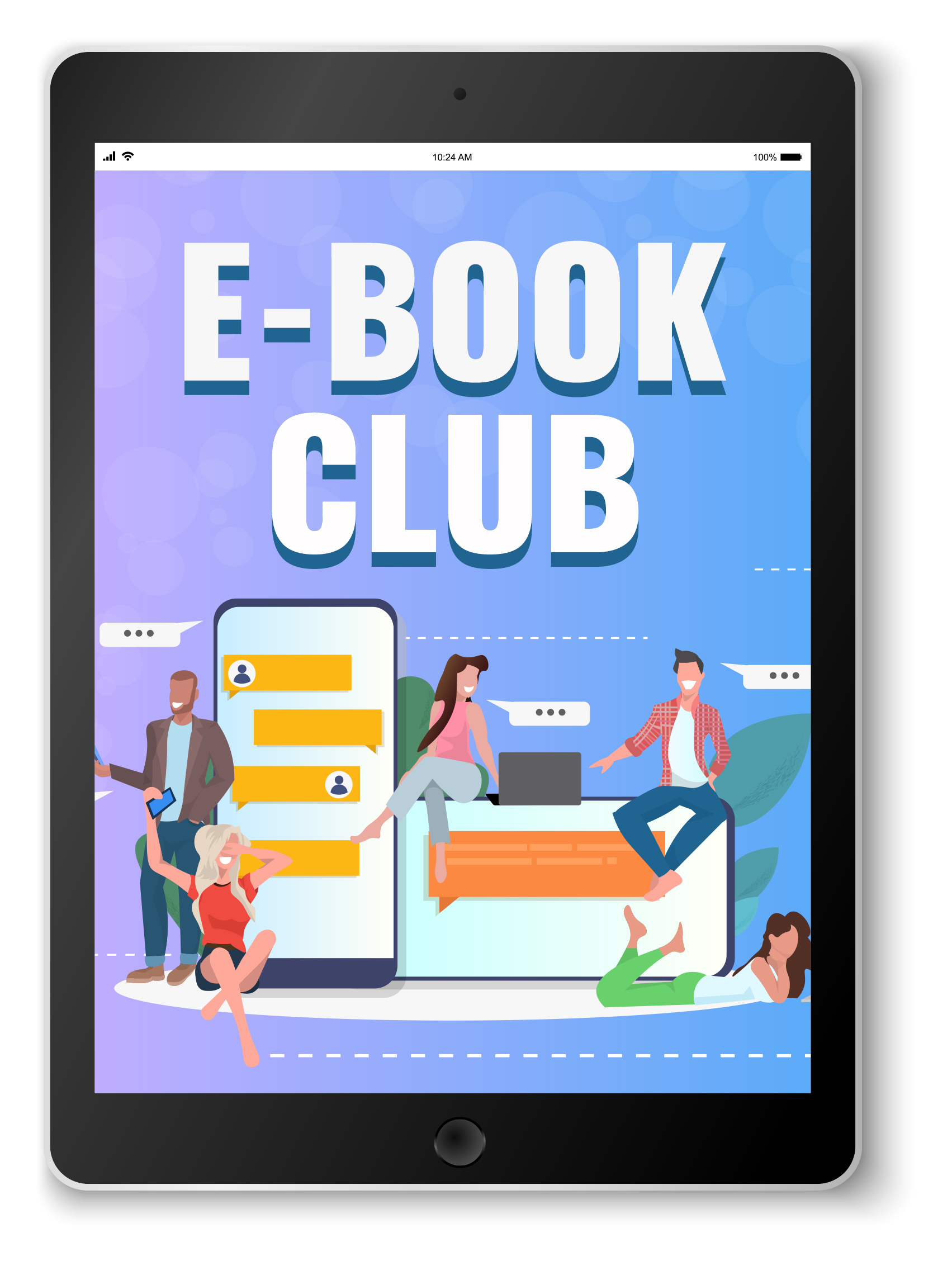 Visit the e-book club list for your book club.